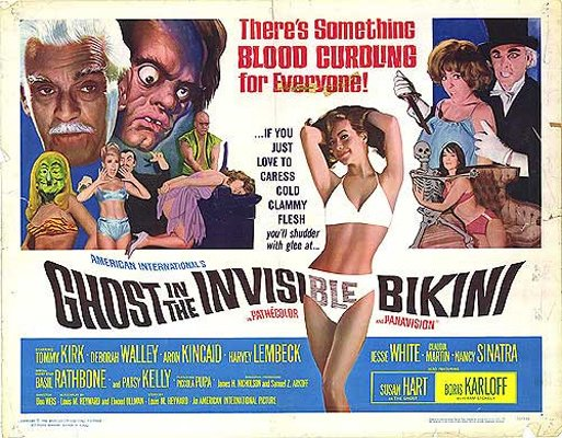 The Ghost in the Invisible Bikini movie
